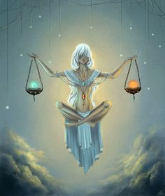 Libra ~ would be a awesome tattoo on my back