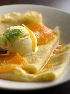 Crepes Suzette - still the most simple and amazing desert I may have ever experienced.