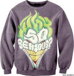 Badass #Joker sweater