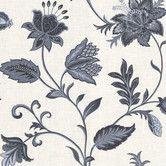 "Found it at Wayfair - La Belle Maison 33' x 20.5"" Flower Embossed Wallpaper"