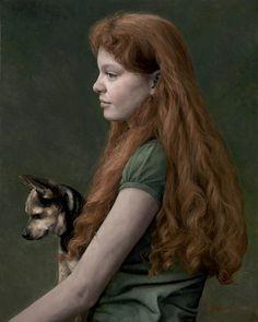 "Candice Bohannon ""Sanguine"" oil on canvas 20x16"""