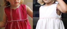I've made quite a few versions of the Geranium Dress for Clementine that feature trim along the armholes and bottom of the bodice (here, here, and here), and I wanted to show you how! It's super easy and it really looks great. My favorite trims for necklines are ricrac and pompons, and lace or pipingRead more...