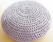Crochet Pouf Ottoman Floor Cushion PDF pattern - English and Dutch pattern available