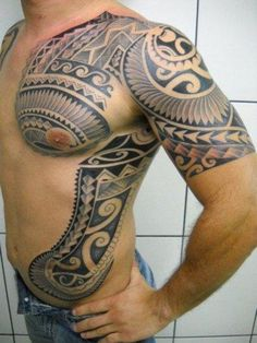 Maori tattoo designs as black symbols of good health and authority - Page 23 of… Great Tattoos, Tattoos For Guys, Maori Tattoo Designs, Marquesan Tattoos, Body Mods, Tribal Tattoos, Lovers, Symbols, Ink