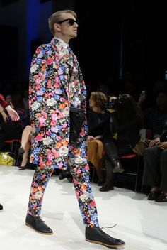 Colombian fashion designer David Alfonso believes that daring is now part of the male identity and he certainly delivered that look with his autumn winter collection label Eriko at Vancouver Fashion Week last Sunday evening.