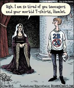 Young Hamlet…