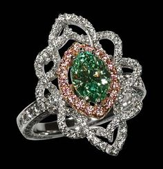 Elizabeth Taylor's ring.  Serious bling!