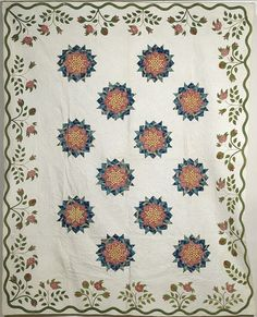 from 1870-1880..American Appliqué Quilt, (2004, Fall Furniture & Decorative Arts / Nov 17-18)