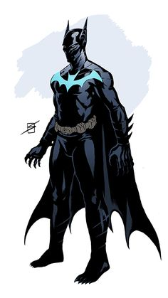 Dick Grayson Batman redesigned by ronsalas-d6ckccr