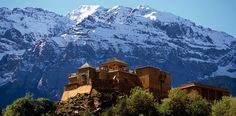 A Moroccan getaway in the mountain range that plays the Himalayans' stunt double.