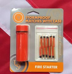 Stormproof waterproof matches case survival emergency tactical UST 20-713-01 #UST