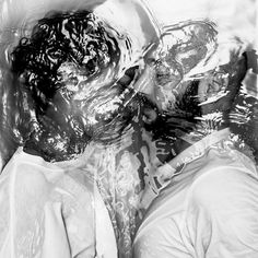Looking through photographer Alban Grosdidier's series, aptly titled Drowning, I found myself holding my breath.