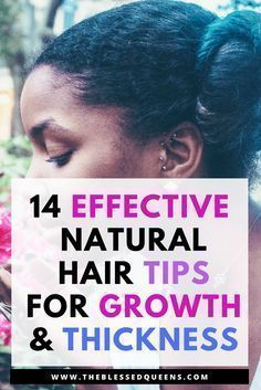 14 Effective Natural hair Growth and Thickening Tips - Natural hair growth tips and remedies for black hair. Lets me introduce you to a journey of thicker and longer hair with this tips. We Black women mostly love long natural hair and we want our ha Thick Natural Hair, Natural Hair Growth Tips, How To Grow Natural Hair, Hair Remedies For Growth, Grow Long Hair, Natural Hair Styles, Thin Hair, Curly Hair, Kinky Hair