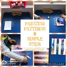 Video Tutorial: A simple intro to patterns for the youngest inquirers. Check it out at: youtu.be/_8XfK0ca-sQ Inspired by the book \
