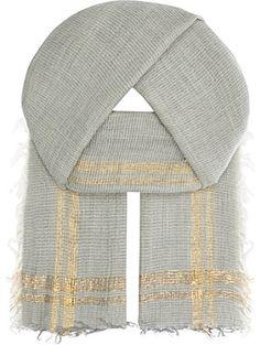 INOUITOOSH Marlon wool scarf