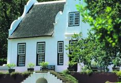 Wines of South Africa - Wineries Beautiful Buildings, Beautiful Homes, Cape Dutch, Caribbean Homes, Dutch House, Garden Pavilion, Dutch Colonial, Manor Houses, Cottage Homes
