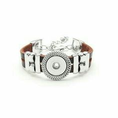 Leather bracelet base piece to start your collection.