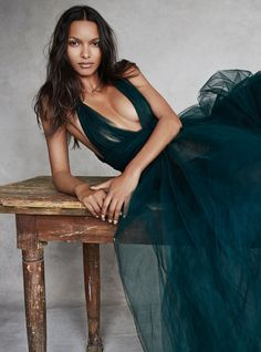 """Lais Ribeiro in """"Close to Heaven"""" by Patrick Demarchelier for Vogue UK November 2014"""