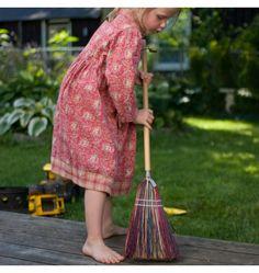 Nova Natural Toys + Crafts - Playing - Child's Rainbow Broom
