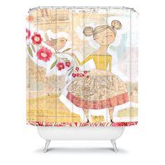 Cori Dantini The Secret To Happiness Shower Curtain