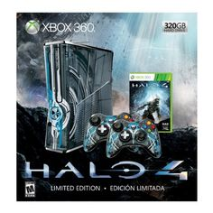 Xbox 360 Limited Edition Halo 4 Bundle *** More info could be found at the image url.Note:It is affiliate link to Amazon. #liking