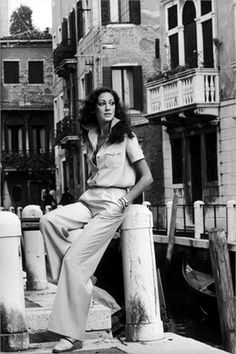 Marisa Berenson 1970  Venice, 1970