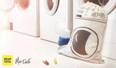 Lava Bolsa - Bolsa para la ropa sucia http://www.deartota.com/