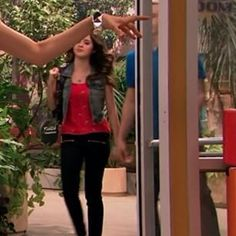 Auslly. Are they holding hand? I can't tell