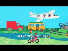 Tot School Week Transportation Theme - The Ox Mama Preschool Songs, Preschool Themes, Kids Songs, School Week, Tot School, Transportation Activities, Barefoot Books, Sing Along Songs, School Videos