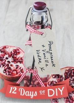 Pomegranate & Vanilla Infused Vodka