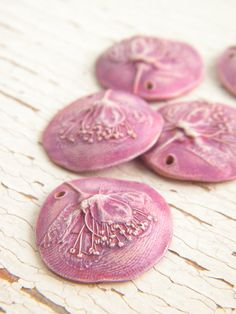 Soft and lovely and forever Spring with dusty pink wild rose pendant. By Rebekah Payne via  Tree Wings Studio etsy shop https://img0.etsystatic.com/036/1/5545089/il_570xN.611966782_k56o.jpg