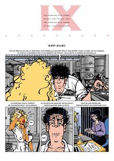 First page for 'Xop-Suey', adaptation of 'Deu pometes té el pomer' by Ofèlia Dracs, 2016