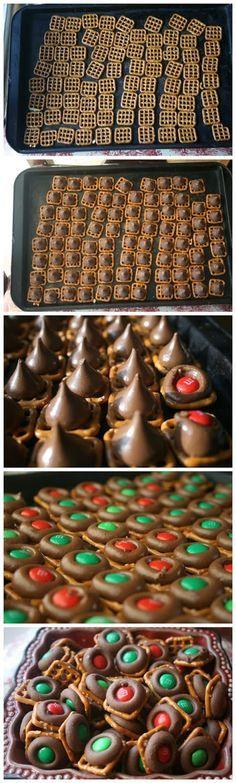 Inspiring snaps: Easy Chocolate Pretzel Bites