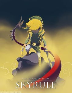 The Legend of Zelda & Skyrim mash-up