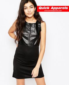 http://www.quickapparels.com/cheap-women-fashionable-leather-look-dress.html