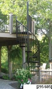 Multi Level Stairway Reaches Approximately 56u0027 High. Spiral Staircase  KitsSpiral StaircasesStair KitsOutdoor ...