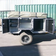 Metalian Maxi 4 4 Off Road Camping Teardrop Camper Trailer, Trailer Tent, Off Road Camper Trailer, Tent Campers, Trailer Plans, Trailer Build, Camper Trailers, Landrover Camper, Off Road Camping