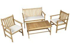 Set de madera de acacia NEW BALI Ref. 16569896 - Leroy Merlin 259