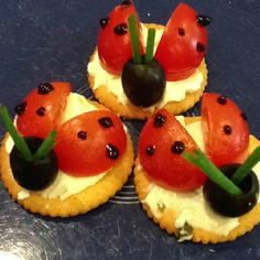 The Very Busy Bee : Snack ~ Lady bug snacks