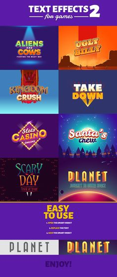 Purchase link: https://graphicriver.net/item/text-effects-for-games-2/19248692