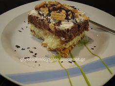 γλυκές δημιουργίες: Γλυκό Ψυγείου με Πτι-Μπερ! Tiramisu, Pie, Ethnic Recipes, Desserts, Blog, Torte, Tailgate Desserts, Cake, Deserts