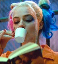 harley quinn, suicide squad, and margot robbie afbeelding