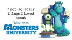 My Monsters University Movie Review: 7 Not-So-Scary Things I Loved About Monsters U