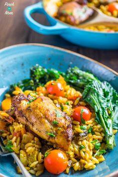 Syn Free one pot mediterranean chicken orzo | Slimming World-16