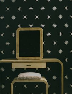 Coronata Star wallpaper by Osborne & Little.