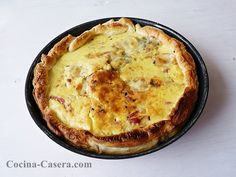 Quiche de Roquefort. Receta de cocina sencilla http://www.cocina-casera.com/2013/02/quiche-de-roquefort-receta-de-cocina.html Vía: @cocinacasera1