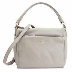 Kate Spade Cobble Hill Little Curtis Purse Handbag Crossbody Gray | eBay