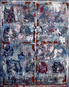 SOLD - Cuvant - 2006-07 Wellington NZ, Roberto Paulet Nz Art, Painting & Drawing, Saatchi Art, Wax, Original Paintings, Objects, Iron, Art Prints, Canvas