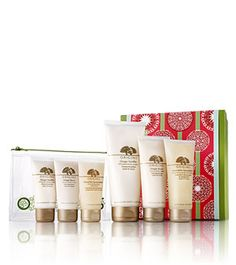 I don't want to give this away as a present--I want it for myself!! A great travel kit to make me feel and smell great anywhere...