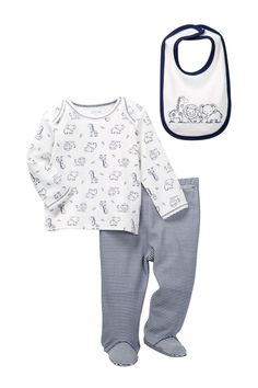 Safari Lap Shoulder Set (Baby Boys)